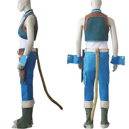 Final Fantasy IX Zidane Tribal Halloween Cosplay Costume