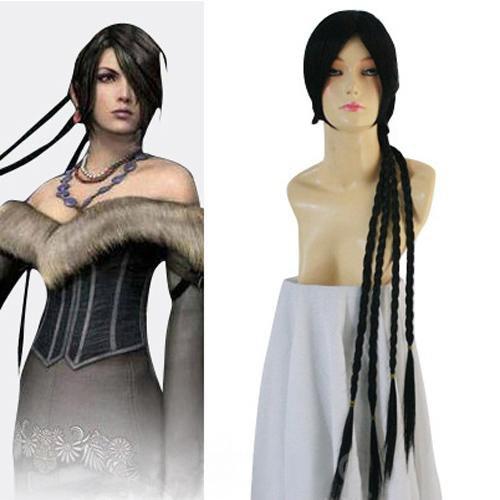Final Fantasy Lulu Halloween Cosplay Wig