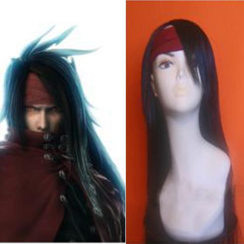 Final Fantasy VII Vincent Valentine Halloween Cosplay Wig