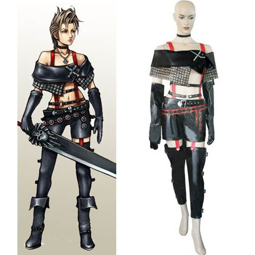 Final Fantasy X-2 Paine  Cosplay Costume - Halloween