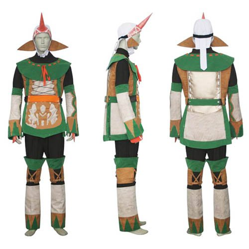 Final Fantasy X-2 Summoner Halloween Cosplay Costume