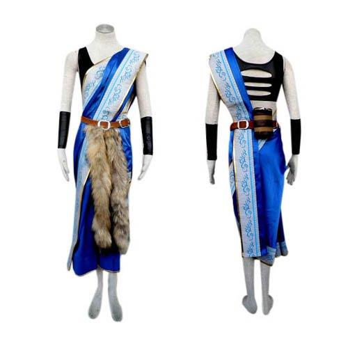 Final Fantasy XIII Oerba Yun Fang Cosplay Costume - Halloween