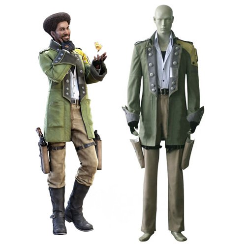 Final Fantasy XIII Sazh Katzroy Halloween Cosplay Costume