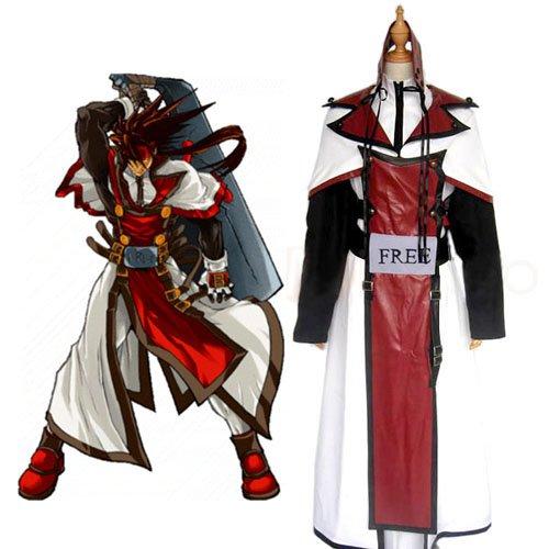 Guilty Gear XX Order Sol Badguy Halloween Cosplay Costume
