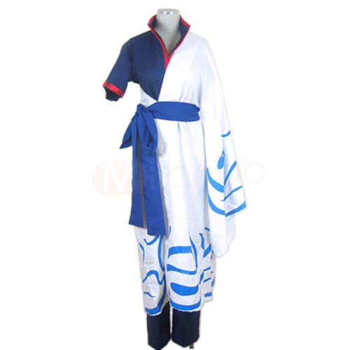 Gin Tama Silver Soul Sakata Gintoki Halloween Cosplay Costume