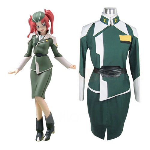 Gundam Seed Destiny Meyrin Hawke Halloween Cosplay Uniform