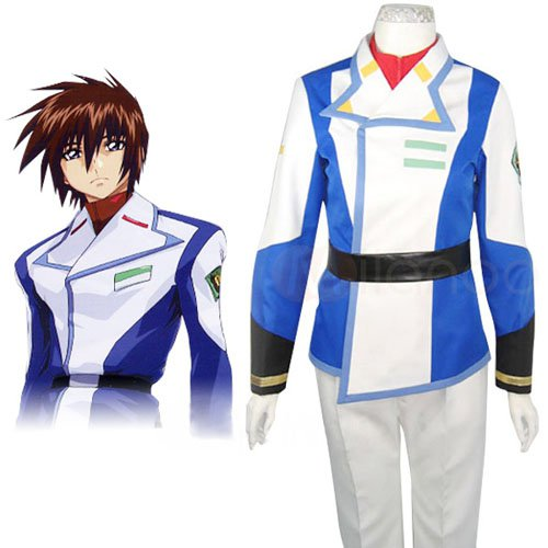 Gundam Seed Kira Yamato Halloween Cosplay Costume