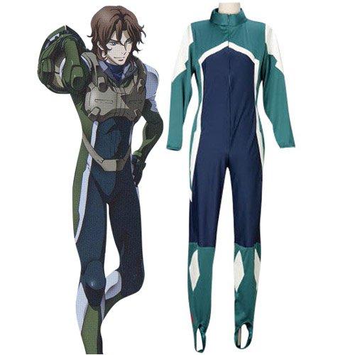 Mobile Suit Gundam 00 Lockon Stratos Pilot Suit Halloween Cosplay Costume