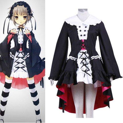 Haruhi Suzumiya Nagato Yuki Halloween Cosplay Costume
