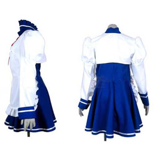 Haruhi Suzumiya Tsuruya Maid Halloween Cosplay Costume