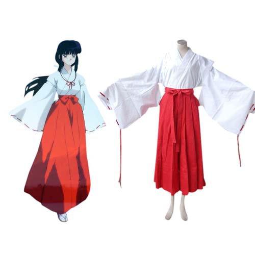 Inuyasha Kikyo Halloween Cosplay Costume