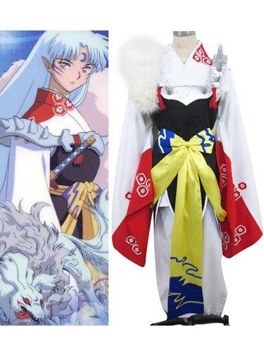 Inuyasha Sesshoumaru Halloween Cosplay Costume