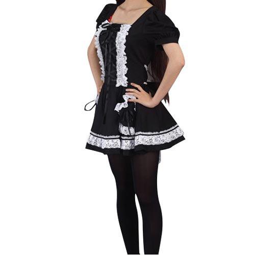 Cool Lolita Halloween Cosplay Costume