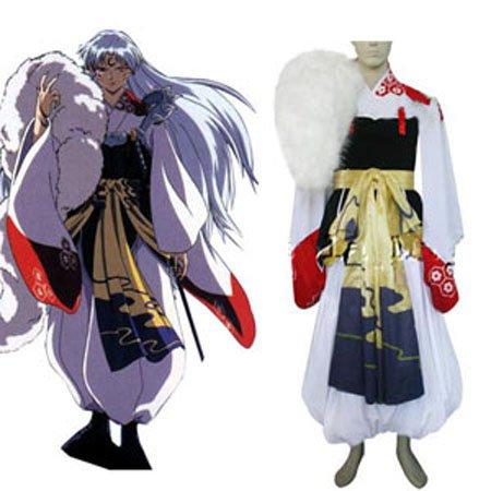 Inuyasha Sesshomaru Halloween Cosplay Costume
