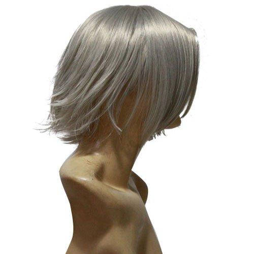 Katekyo  Hitman Reborn Hayato Gokudera Halloween Cosplay Wig