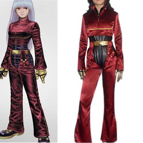 King of Fighters Kula Diamond Halloween Cosplay Costume