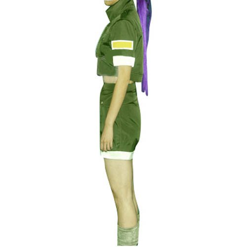 King of Fighters Leona Halloween Cosplay Costume