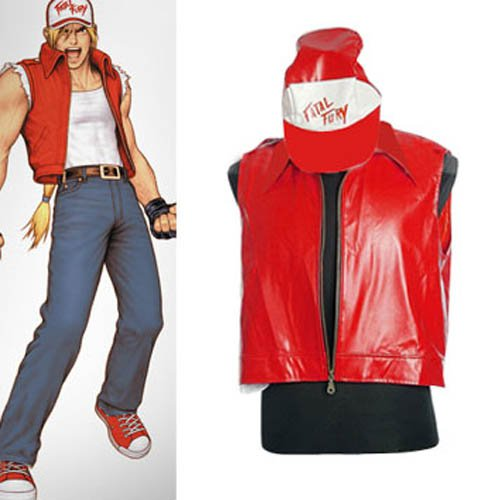 King of Fighters Terry Halloween Cosplay Costume