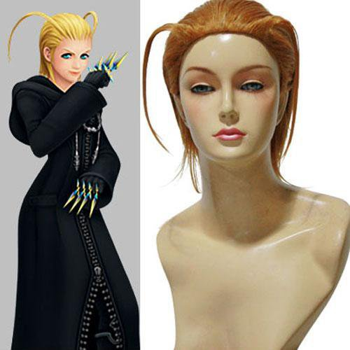 Kingdom Hearts II Organization XIII Larxene Halloween Cosplay Wig