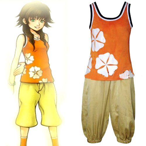 Kingdom Hearts Olette Halloween Cosplay Costume