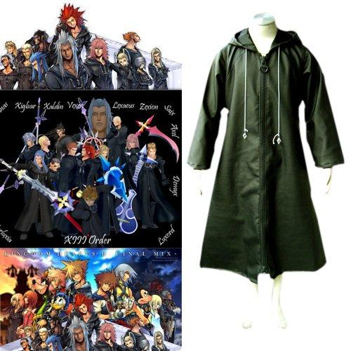 Kingdom Hearts Organization XIII 13 Halloween Cosplay Costume