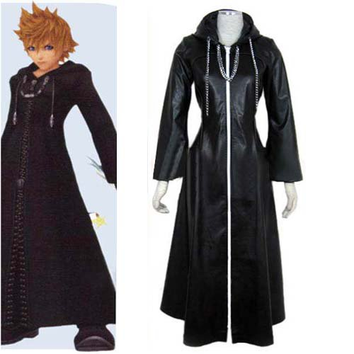 Kingdom Hearts Organization XIII Roxas Halloween Cosplay Costume