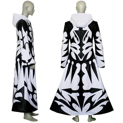Kingdom Hearts Xemnas Halloween Cosplay Costume