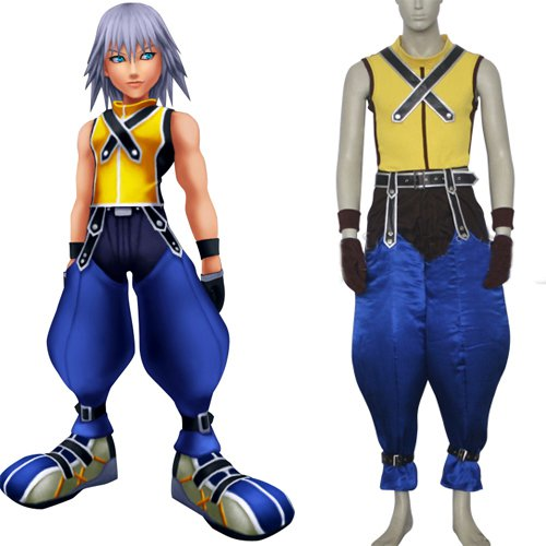 Suitable Kingdom Hearts Riku Halloween Cosplay Costume