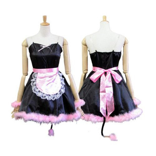 Halloween Cosplay Pussy Cat Maid Uniform Lolita Halloween Cosplay Costume