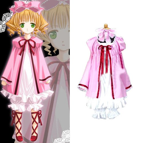 Rozen Maiden Hinaichigo Lolita Halloween Cosplay Costume