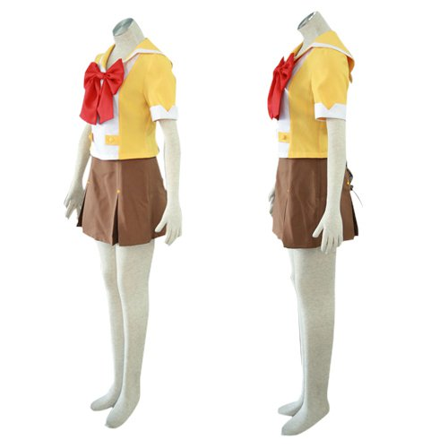 Cool Cool Macross Frontier Mihoshi Academy Uniform Halloween Cosplay Costume