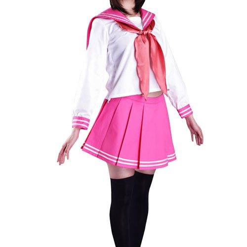 Lucky Star Winter Halloween Cosplay Costume