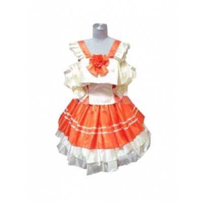 Macross Frontier Ranka Lee Lolita Dress Halloween Cosplay Costume