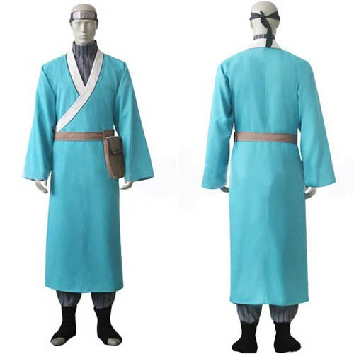 Naruto Ao Uniform Cloth Knitted Fabric Halloween Cosplay Costume