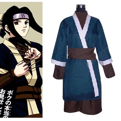 Naruto Haku Ha Halloween Cosplay Costume