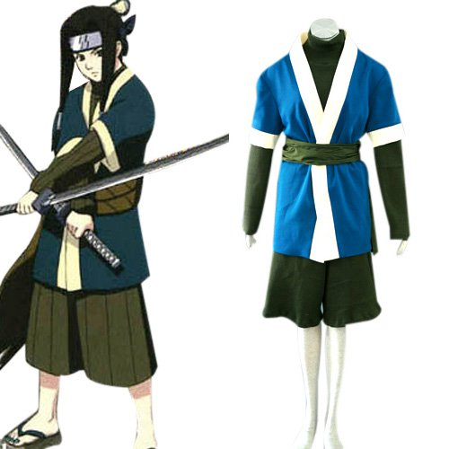Popular Naruto Haku Ha Halloween Cosplay Costume
