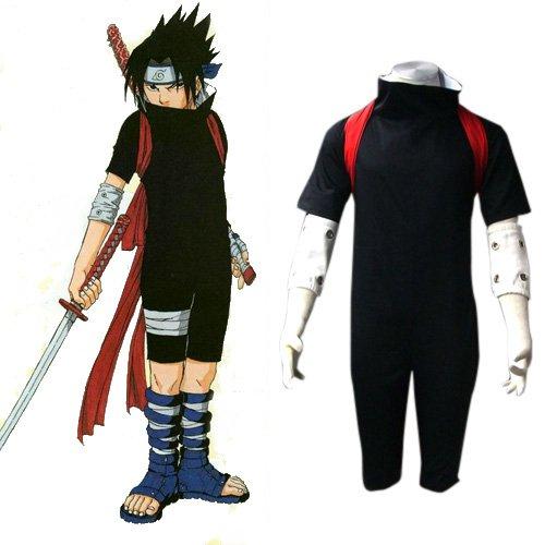 Naruto Shippuden Sasuke Men\'s Halloween Cosplay Costume