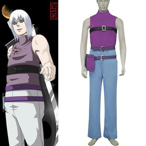Naruto Taka Hawk Suigetsu Hozuki Halloween Cosplay Costume