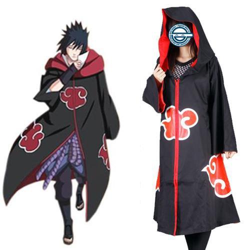 Naruto Team Taka Hawk Sasuke Uchiha Halloween Cosplay Costume
