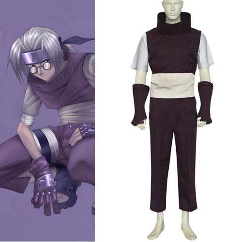 Naruto Yakushi Kabuto Halloween Cosplay Costume