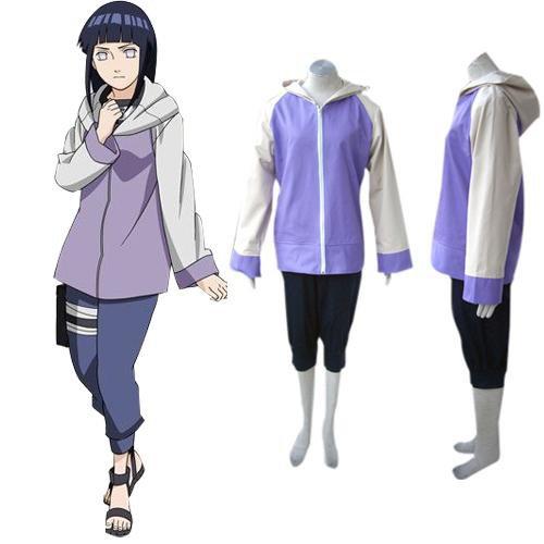 Superior Naruto Shippuden Hinata Hyuga Women\'s Halloween Cosplay Costume