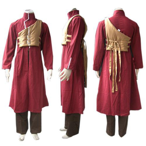 Cheap Naruto Shippuden Gaara Red Men\'s Halloween Cosplay Costume