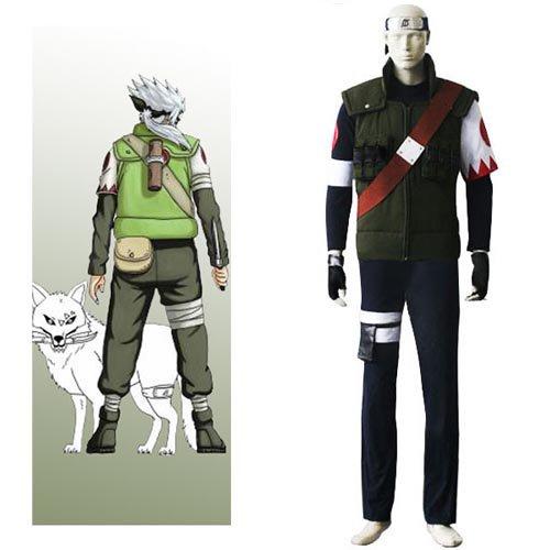 Naruto Hatake Sakumo Halloween Cosplay Costume
