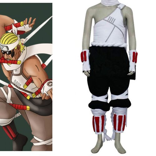 Naruto Killer Bee Halloween Cosplay Costume