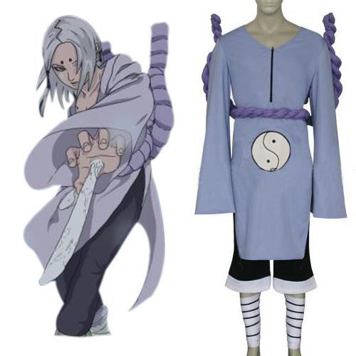 Naruto Kimimaro Kaguya Halloween Cosplay Costume