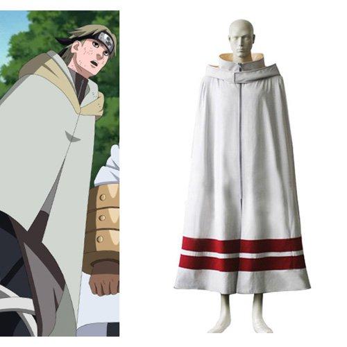 Naruto Leaf Village Cloak For Men Halloween Cosplay Costume