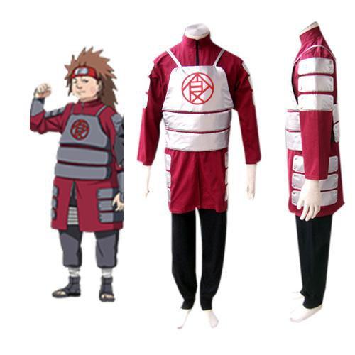Naruto Shippuden Akimichi Chouji Men\'s Halloween Cosplay Costume
