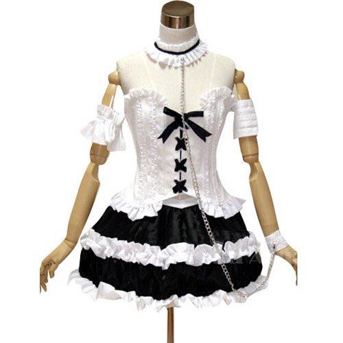 Neon Genesis Evangelion Ayanami GothLoli Halloween Cosplay Costume