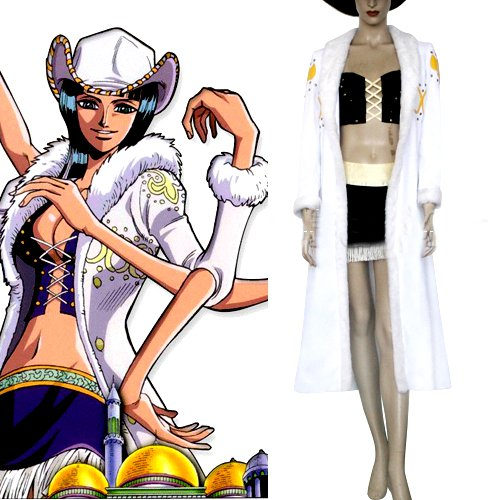 One Piece Nico Robin Halloween Cosplay Costume