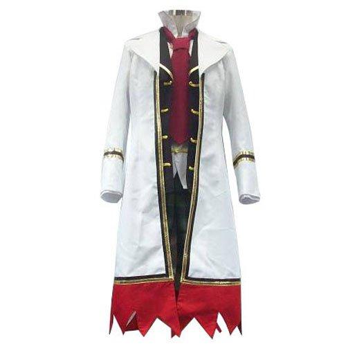 Pandora Hearts Oz Vessalius With Over Coat Halloween Cosplay Costume
